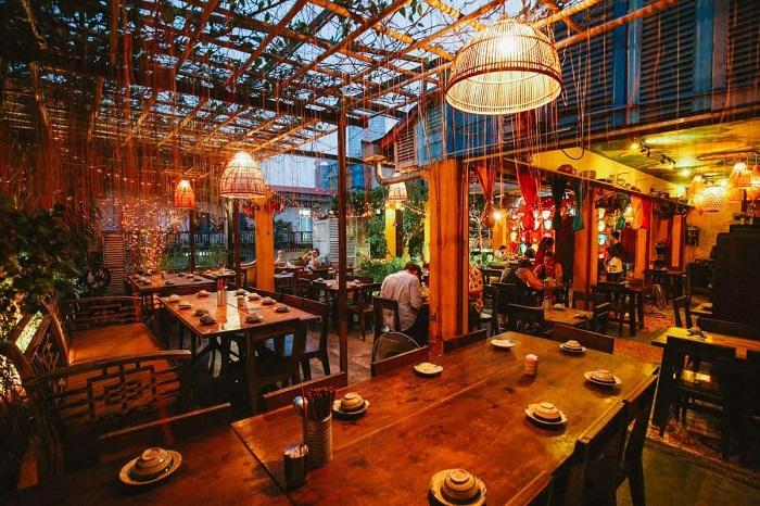 quán ăn trưa ở Sài Gòn - quán Ghánh