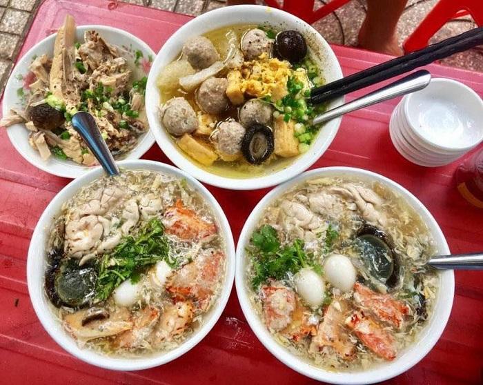 quán ăn trưa ở Sài Gòn - súp cua bong bóng cô Lan