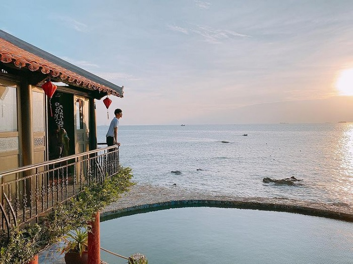 Binh An cafe - the famous sea view cafe in Vung Tau