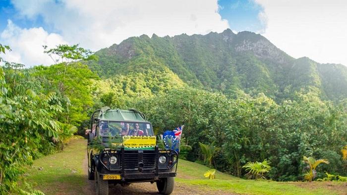 Xe đi lại xung quanh quần đảo - Quần đảo Cook