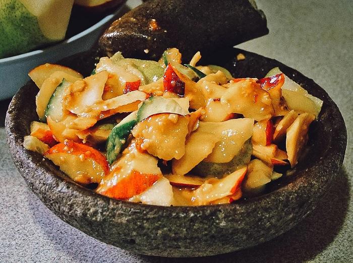 Món Rujak - ăn gì ở Bandung