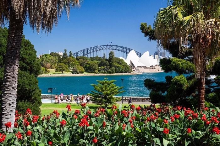 Vườn bách thảo Hoàng gia Sydney - Vườn bách thảo đẹp nhất thế giới