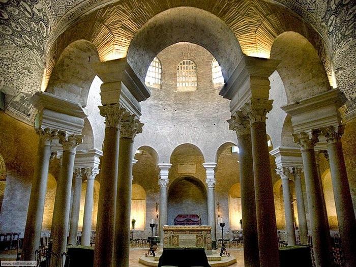 Bên trong lăng Santa Costanza  - địa điểm du lịch ít người biết ở Rome