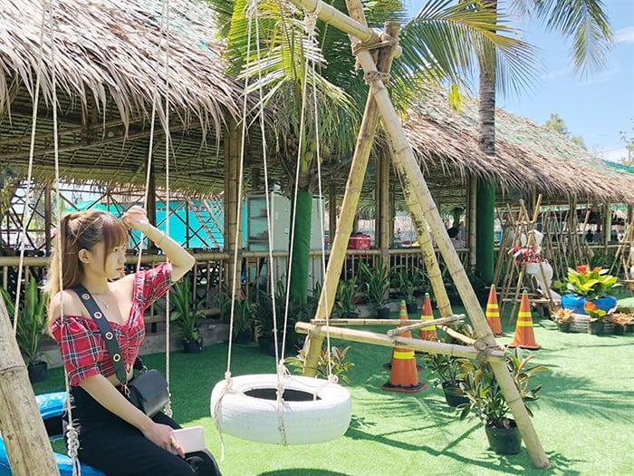 Check in khu du lịch Làng Xanh - Thiên đường vui chơi