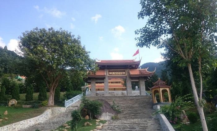 Thiền Viện Trúc Lâm An Tâm - điểm tham quan gần Thiền Viện Trúc Lâm Tây Thiên