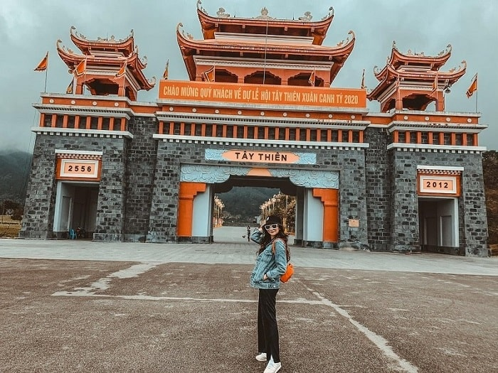 Kiến trúc ở Thiền Viện Trúc Lâm Tây Thiên