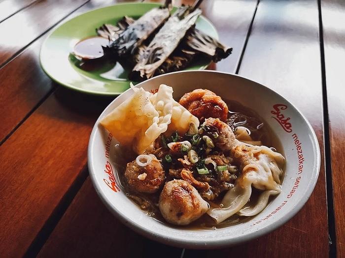 Thịt viên Bakso - ăn gì ở Bandung