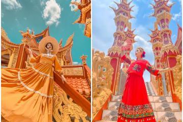 Tịnh xá Ngọc Lai - 'góc Thái Lan' tuyệt đẹp ở Gia Lai hút dân tình kéo đến check-in