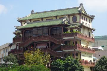 Chùa Phật Học Cần Thơ - ngôi chùa 5 tầng linh thiêng trên đất Tây Đô