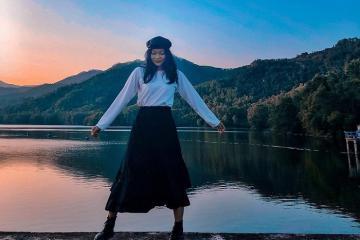 Có một hồ Mỹ Bình đẹp tựa nàng thơ trong lòng Bình Định