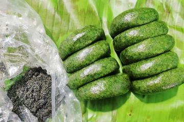 Thưởng thức đặc sản bánh ngải Lạng Sơn dẻo thơm, ngon khó cưỡng