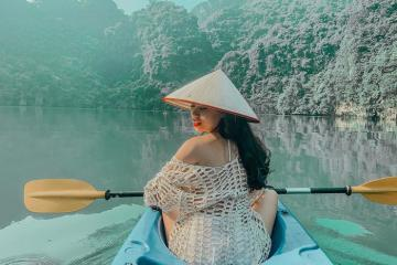 Khám phá đảo Bồ Hòn Quảng Ninh chiêm ngưỡng cảnh đẹp và chèo thuyền kayak