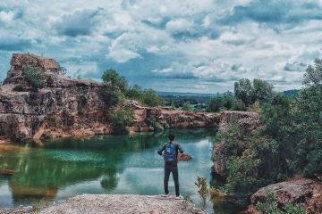Săn ảnh nghìn like ở hồ Latina An Giang đẹp tựa chốn thiên đường