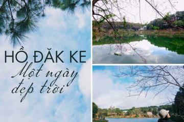 Lên Măng Đen thì đừng lỡ hẹn với hồ Đăk Ke!