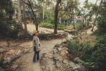 Làng cổ Gò Cỏ - 'nàng công chúa Champa ngủ quên'ở Quảng Ngãi