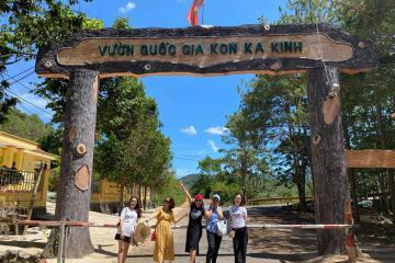 Cùng hội bạn thân 'du hí' vườn quốc gia Kon Ka Kinh, Gia Lai