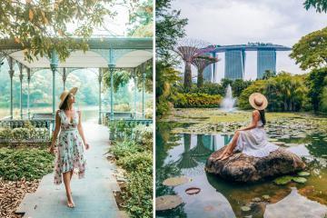 Lạc lối trong màu xanh ngút ngàn của những vườn bách thảo đẹp nhất thế giới