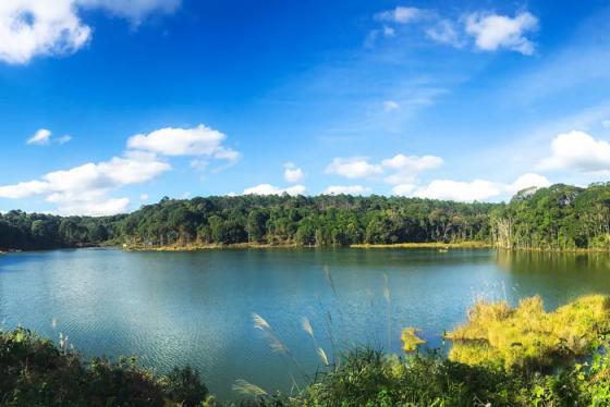 Đẹp đến nao lòng hồ Toong Đam Kon Tum!