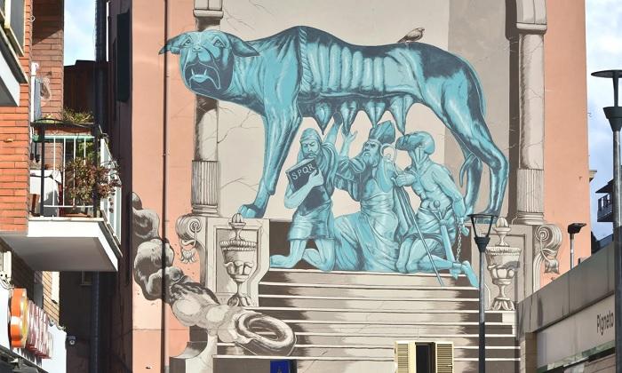 Con phô Pigneto - địa điểm du lịch ít người biết ở Rome