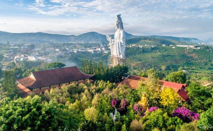 Du lịch Lâm Hà đến chùa linh ẩn
