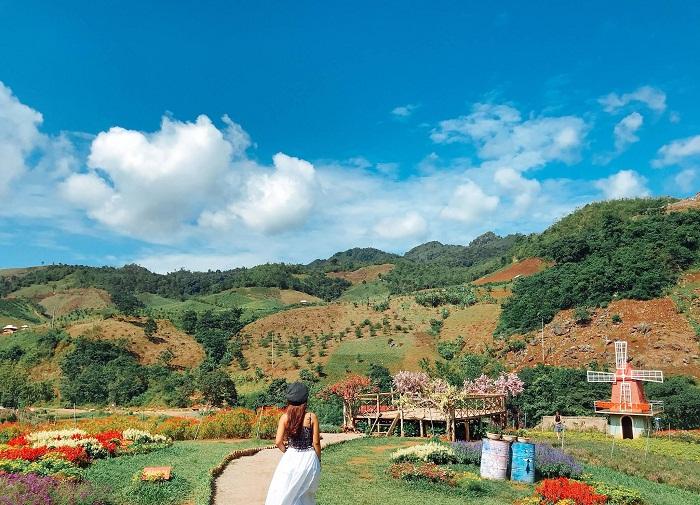 khu du lịch Happy Land Mộc Châu