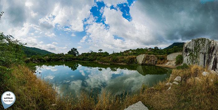 Săn ảnh ở hồ Latina An Giang - Vẻ hoang sơ cuốn hút