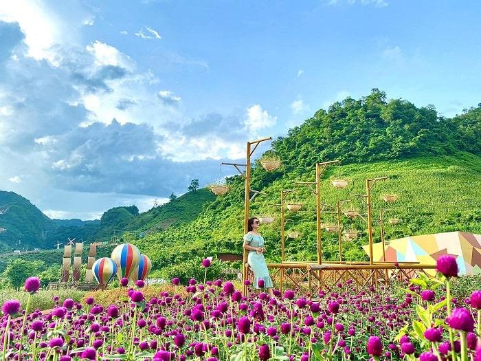 Vẻ đẹp ở khu du lịch Happy Land Mộc Châu