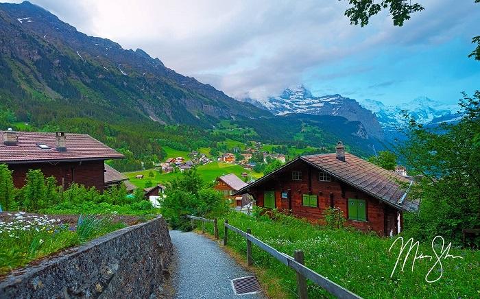Thị trấn miền núi xinh đẹp của Thụy Sĩ - Làng Wengen