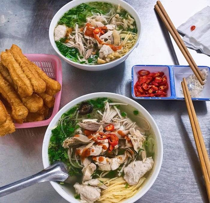 10 món ăn sáng của người Hà Nội