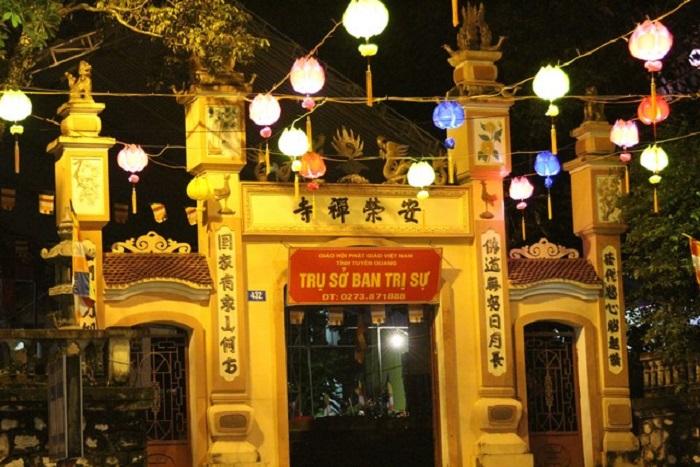 Top 5 ngôi chùa ở Tuyên Quang nổi tiếng linh thiêng