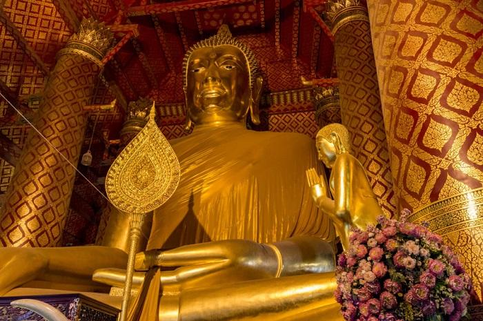 Bức tượng Phật cổ xưa có từ năm 1325