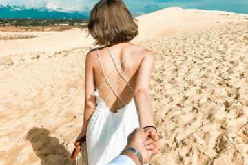 Trải nghiệm cồn cát Quang Phú Quảng Bình - 'tiểu sa mạc' đẹp quên lối về