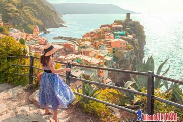 Cùng em khám phá Cinque Terre, thiên đường dưới hạ giới của nước Ý
