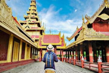 Khám phá cung điện Mandalay – cung điện hoàng gia của tại cố đô Myanmar