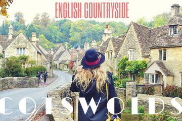 Ngôi làng Bibury nước Anh - miền quê tươi đẹp xứ sương mù