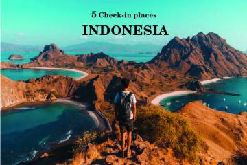Top 5 điểm check-in cực hot ở Indonesia