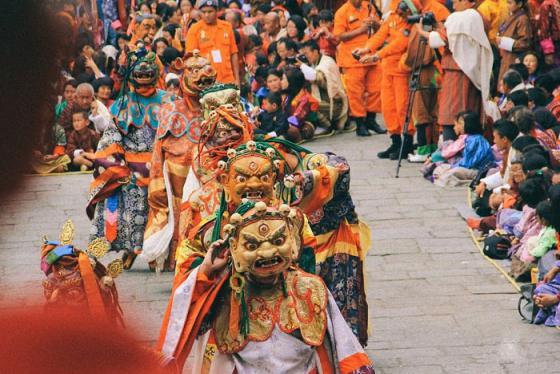 Những lễ hội đầy màu sắc tại quốc gia hạnh phúc Bhutan