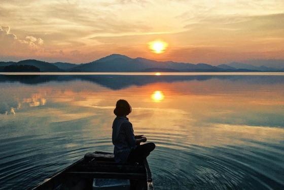 Du lịch Hồ Kẻ Gỗ - Ốc đảo xanh mơ mộng quyến rũ