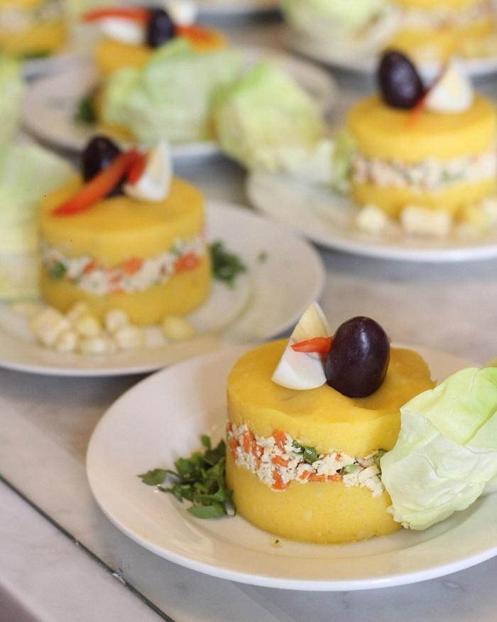 Món ăn ngon ở Peru