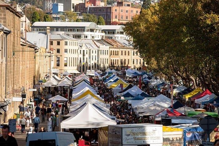 Khám phá Chợ Salamanca nước Úc