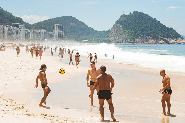 Copacabana cruises - one of the most beautiful beaches in the world