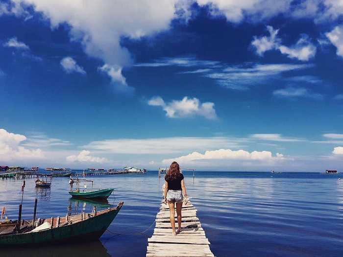 du lịch làng chài Rạch Vẹm – thiên đường sống ảo chất lừ
