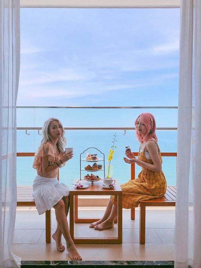 """'Trốn nắng"""" tại TMS hotel đà nẵng beach – khách sạn view biển Mỹ Khê tuyệt đẹp"""