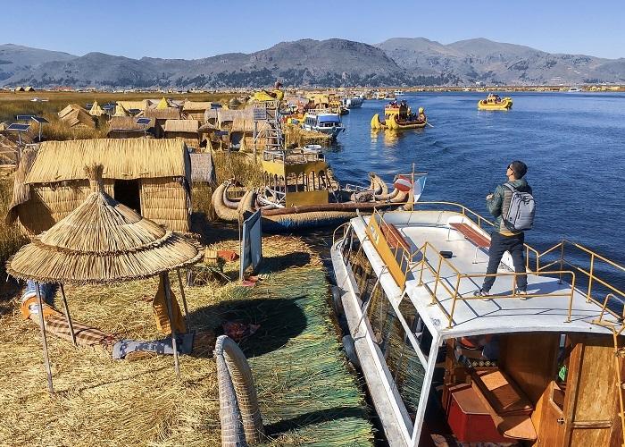 Hồ Titicaca - hồ nước cao nhất thế giới ở Nam Mỹ