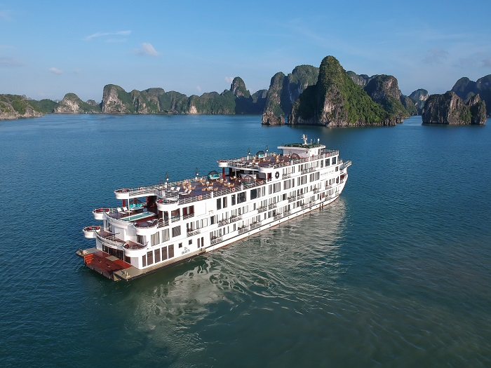 Review du thuyền President Cruises Hạ Long – Thưởng ngoạn kỳ quan thế giới ngay bên boong tàu