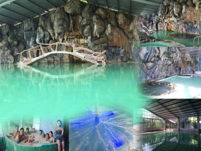 Cận cảnh suối khoáng nóng Thanh Thủy