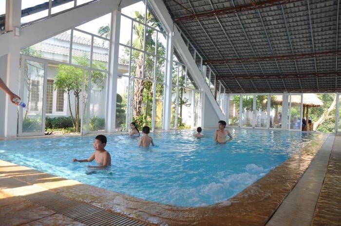 Suối khoáng nóng Thanh Thủy là điểm đến được du khách yêu thích
