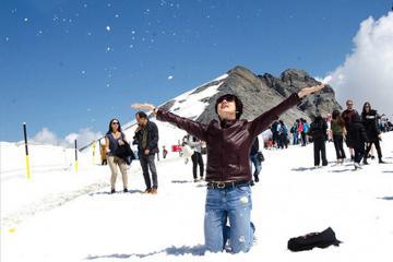 Chiêm ngưỡng cảnh sắc bốn mùa ở đỉnh núi Titlis Thụy Sĩ