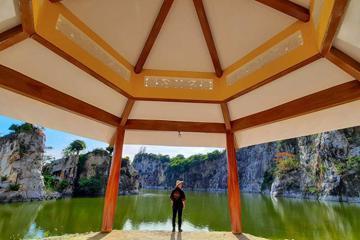 Thiền Viện Trúc Lâm An Giang - tuyệt cảnh mới xuất hiện ở vùng núi Sập