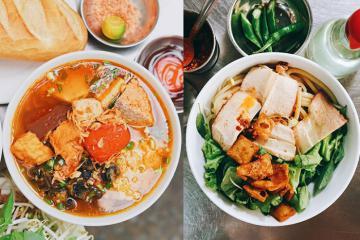 Không lạ khi bún riêu và cao lầu Việt Nam lọt top món mì châu Á ngon nhất!